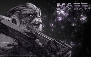 Garrus Vakarian wallpaper by Sorceress-Nadira