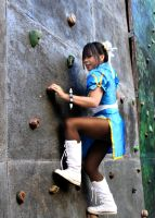 Climbing the Wall by chidori-sagara