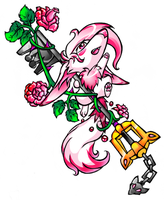 Of Keyblades and Roses by Lyritwolf