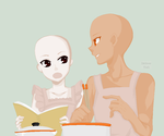 COOKING together. by Zakilovee-bases