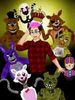 Five Nights At Freddy's With Markimoo by highly-unstable