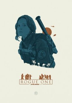 I rebel - Rogue One: A Star Wars Story by lewisdowsett