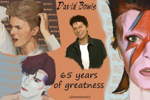 Happy Birthday David Bowie by silvermoon822