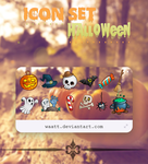IconSet Halloween by Waatt