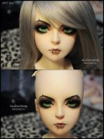 Face-up: DOT Sha - 4 by asainemuri