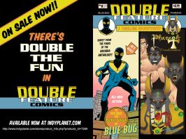 Double Feature Comics #0 -On Sale Now! by LegacyHeroComics