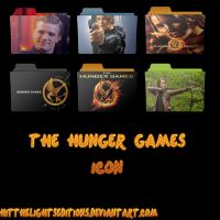 Hunger Games Icon by HitTheLightsEditions