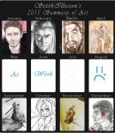 Summary of Art 2015 by SixthIllusion
