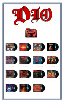 Dio Discography Icons ICO PNG by AlbumArtIcons