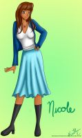 Nicole Character Design by MissingMyMind