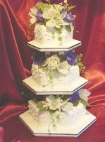 Summer wedding cake by raynich2