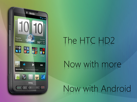 HTC HD2 with Android fake advert by Tandyman100