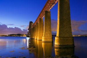 Forth Bridge by silverstealth