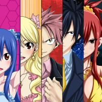 Collab Fairy tail by asdfrx