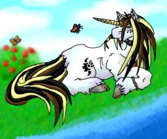 colerd in my unicorny lol by cheese-puff82