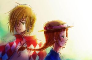 Howl's Moving Castle by LiniAriva