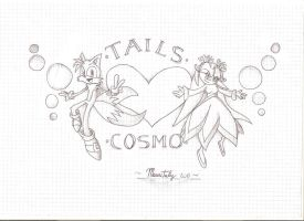 Tails And Cosmo Tribute by Mauritaly