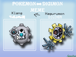 Canon Digimon to Canon Pokemon by FallenGems