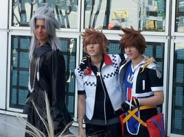 Kingdom Hearts cosplay by OurLivingLegacy