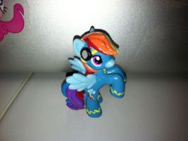 Rainbow Dash Wonderbolt Blind Bag Custom by Kwockodile