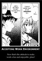 Accepting Work Environment by gomjibar22