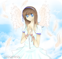Collab   Angel By Miyako Miku-Snowsteel by snowsteel