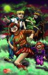 The Scooby Gang colored by The-Internationalist
