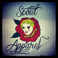 Rose Woman by ScoutLC
