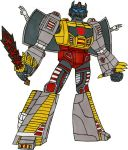 Grimlock Robot Mode by MattM105