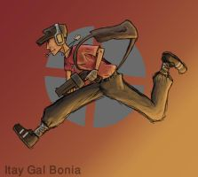 team fortress 2 scout by capoeirabonia