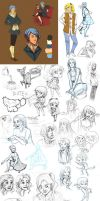 Big Ass Sketch Dump by It-is-a-circle
