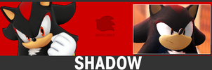 SSB for 3DS/Wii U Shadow the Hedgehog Newcomer Tab by Tales499