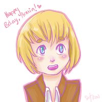 Happy 3 Day Late Bday Armin lol oops by Slothiitron