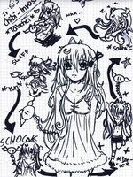 Lacri's old drawing //2 by LacriChan