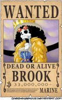 WANTED Dead or Alive - Brook by JoeyDangerous