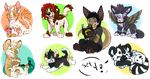 page minis set 4! by High-Yote
