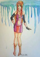First Completed Watercolor by Yuka-Strike