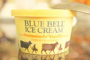 Blue Bell Ice Cream by MinhMonsterful