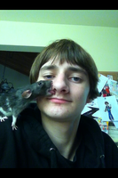 Navi tries to lick my nose by The-Bryce-Is-Right