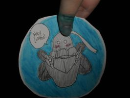 Alphonse-Navi Crossover Paper Child by Clear-san