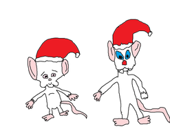 Pinky and the Brain Christmas by Simpsonsfanatic33