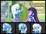 I love my bff by ladymilyon