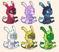 (CLOSED) Baby Zarziol Adopts by MGMaguire
