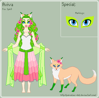 ToS - Aviva Reference Sheet by porcelian-doll