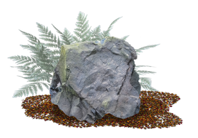 Rock 03 PNG.. by AledJonesStockNArt