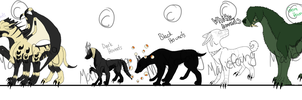 Grimmlock Hounds by DrappingMalice