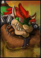 Bowser Fanart by IcedEdge