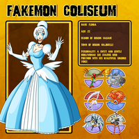 Fakemon Coliseum: Gym leader 2 - Flinda by MTC-Studio