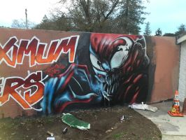 Maximum Sixers (Carnage) by lilcoco