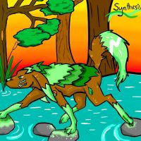 Synthesis - Earth wolf by canned-sardines